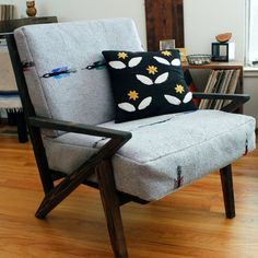 Marvelous Build Your Own Mid Century Modern Chair With Rustic Twist. Itu0027s Stylish And  Comfy.