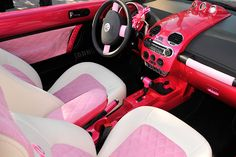 Don't like the Beetle but I looove this interior..On my wishlist for sure...