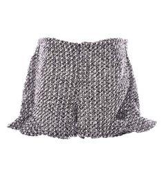 Woven Frill Hem Shorts Reference: MW02151004