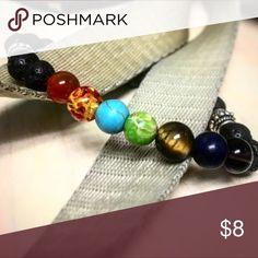 7 element chakra healing bracelet 7 element healing bracelet Jewelry Bracelets
