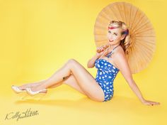 Sun Inspired Pin-Up! | Bay Area Pin-Up Photography