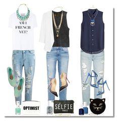 """""""How to Wear Boyfriend Jeans"""" ❤"""