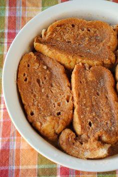 Pumpkin Overnight French Toast