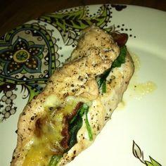 Stuffed Chicken Florentine   Recipes   Beyond Diet