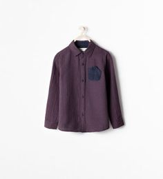 CHECK SHIRT WITH FRONT POCKET DETAIL