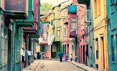 Barrio de Balat.  Estambul.  Turquía