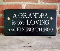 Grandpa Sign