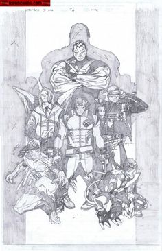 Olivier Coipiel Ultimate X-Men cover.