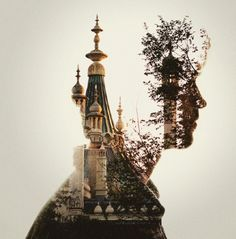 Dan Mountford's double exposure photo illustrations are beautifully crafted, simple images that evoke a dreamlike space Photoshop Photography, Creative Photography, Art Photography, Digital Photography, Man Vs Nature, Creative Photoshoot Ideas, Gcse Art Sketchbook, Double Exposure Photography, Photo Illustration