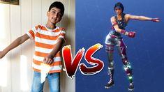 Rumi vs 2 years old Brother Fortnite Dance Challenge | Fortnite Dance in...