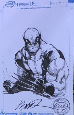 Wolverine by Humberto Ramos *
