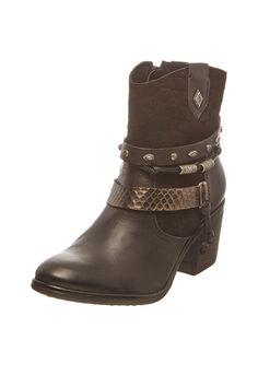 Venda Calçado adulto e criança / 28592 / Bullboxer / Botins de couro Preto