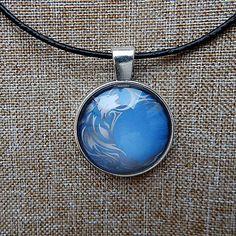 Tribal Wolf pendant necklace jewelry wolf animal by ViaLatteaArt