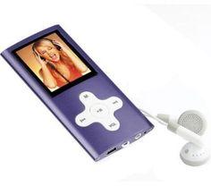 Damit der Hörspass komplett wird, bringt dieser kompakte und elegant designte MP3-Player MP3 MP206 von Clip Sonic noch zusätzlich ein Radio mit.    Genauso klein wie sein Preis, kann er außerdem noch mit Fotos und Videos in den Formaten JEPG und AVI umgehen sowie als Diktiergerät oder als e-Book dienen. So können Sie entspannen oder arbeiten.