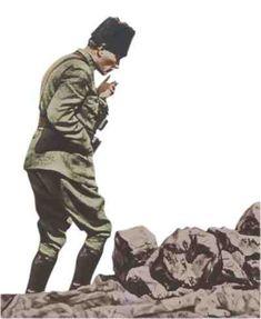 Atatürk Afyon Kocatepe'de - II