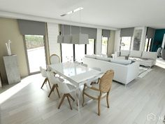 Why to choose between a classy and a modern dining room?