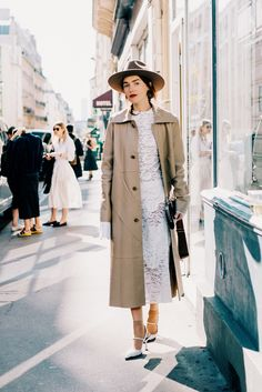 On the street in Pigalle