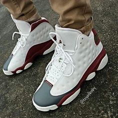 "AIR #jordans 13 ""grey toe"""