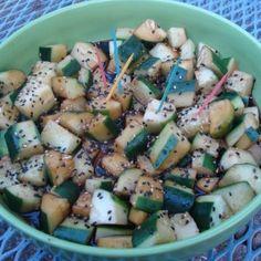 Sesame Cucumbers - C...