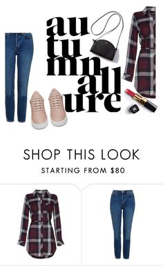"""On the road"" by elliewriter ❤ liked on Polyvore featuring Topshop, Filling Pieces and Chanel"