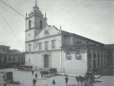 1902 São Paulo Igreja da Sé, demolida em 1912 para a construção da atual praça da Sé