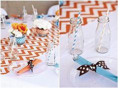 Table decor - so cute!