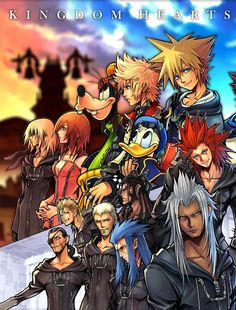 Kingdom Hearts- one of the best games ever