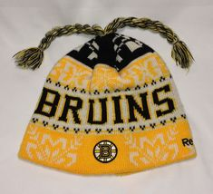 400c67103c6 Boston Bruins NHL Reebok Beanie Hat T113 MA8164