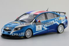 73.80$  Buy now - http://ali50i.worldwells.pw/go.php?t=2052630501 - 2011 Chevrolet Cruze  WTCC Racing Car Alloy Collectable Diecast Model Cars Slot Cars Hobby 73.80$