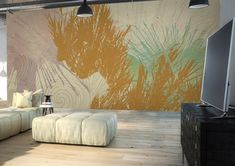 Pop cane | Graphic Wallcovering & Carta da Parati | Spirit of Nature Collection by Glamora