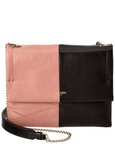 You need to see this LANVIN Mini Sugar Bicolor Leather Shoulder Bag on Rue La La.  Get in and shop (quickly!): http://www.ruelala.com/boutique/product/99825/28520634?inv=tarlishaj&aid=6191