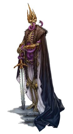 Erum-Hel, Lord of the Mohrgs. Illustration for Pathfinder Campaign Setting: Undead Unleashed, Paizo Publishing, Dark Fantasy, Fantasy Rpg, Medieval Fantasy, Fantasy Artwork, Digital Art Fantasy, Fantasy World, Monster Design, Monster Art, Dungeons And Dragons