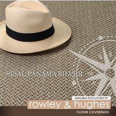 Our featured product for June is Sisal Fine Panama Silver. Made from the finest quality East African Sisal.
