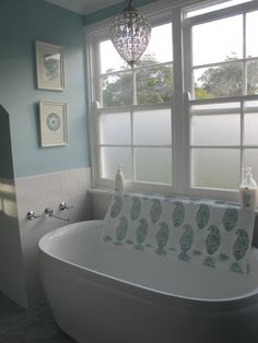 The Perfect Pretty   Georgica Pond. Opaque Film Bought On E Bay For The  Windows For Privacy