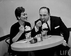 Liz Renay and Mickey Cohen