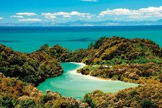 Abel Tasman National Park, Frenchman's Bay / New Zealand