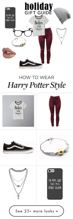 """Untitled #2"" by mufasa917 on Polyvore featuring Abercrombie & Fitch, Vans, Disney and The North Face"