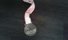 De halve marathon in Groningen gelopen
