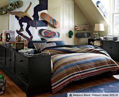 Boys Bedroom Decor & Allister Ultimate Bedroom | PBteen