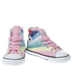 Kids Converse Personalised Peter Rabbit Pink Infant Converse