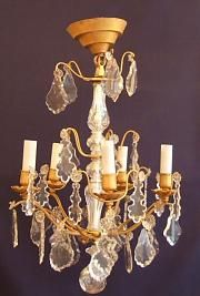Antique Chandeliers Material: brass Condition: Excellent Origin: French Circa 1900