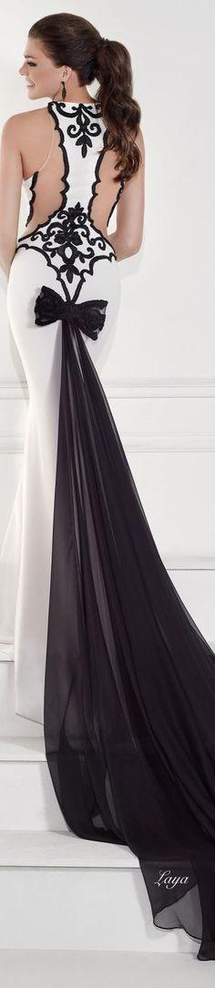 TARIK EDiZ Spring 2015 COUTURE.  #ball #banquet #classy #elegant  Ball Gown / Evening Dress