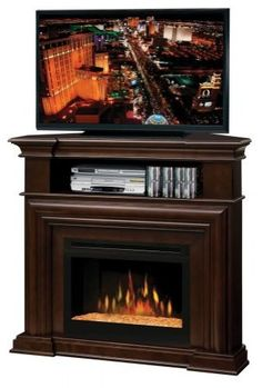 Convertible Media Console Electric Fireplace In Black 23DE9447 PB84 At The  Home Depot | Our Home | Pinterest | Electric Fireplau2026