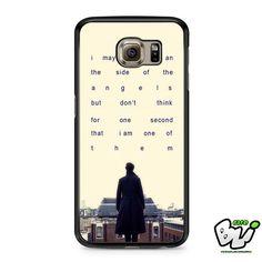 Sherlock Benedict Cumberbatch 221b Street Samsung Galaxy S7 Case