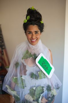 DIY TEA BAG COSTUME!!! Raxclothing.com