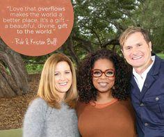 Rob & Kristen Bell Super Soul Sunday, Oprah Winfrey Network, Kristen Bell, Own Quotes, Master Class, Inspirational, Beautiful