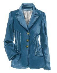 Liesl Denim Blazer.  I like the stitching on this jacket. Will order and hope it fits.