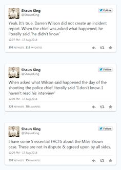 Facts Everyone Should Know About The Shooting Of Michael Brown