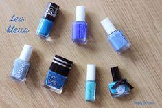 Blue is the Coolest Colour Essie, Usb Flash Drive, Lipstick, Colour, Cool Stuff, Beauty, Blue, Color, Lipsticks