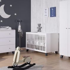 Union Marin 3-Piece Nursery Set! #babyroom #babyfurniture #nursery #modern #unique #babydesign #home #design #babyboy #babygirl Top Furniture Stores, Nursery Furniture Sets, Baby Design, Cribs, Toddler Bed, Nursery Modern, Baby Rooms, Sweet Dreams, 3 Piece